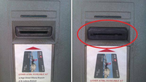 Recognizing a Credit Card Skimmer